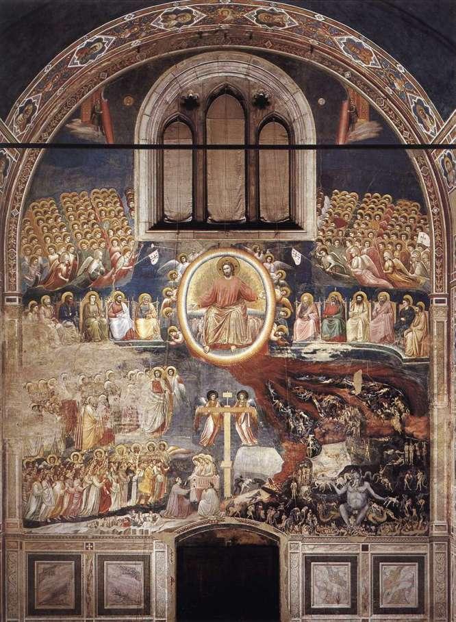 "Giotto "" Last Judgement"" ca 1306"