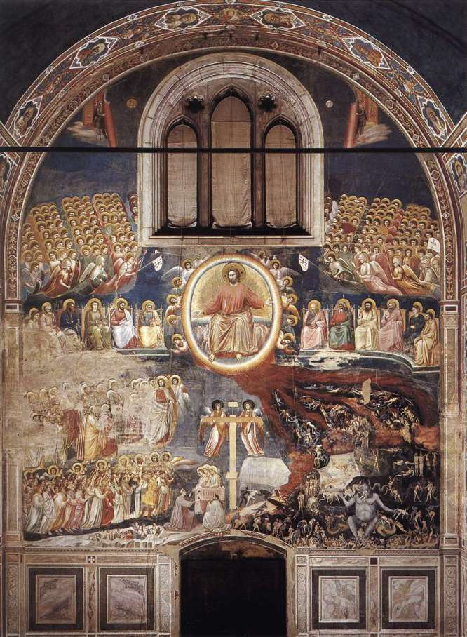 "Giotto "" Last Judgement"" ca 1306"