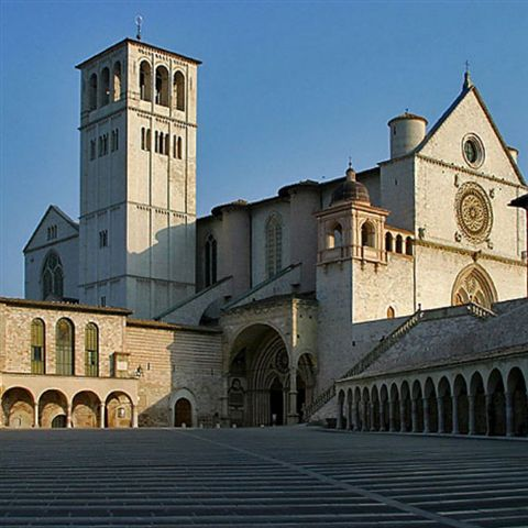 Basilica San Fransesco....in Assisi